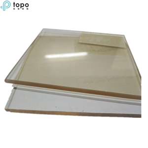New Drawing Technology Clear High Density Borosilicate Glass