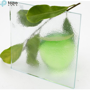 3mm-19mm Ultra Clear Low Iron Patterned Float Glass