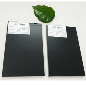 Black Flat Float Glass Sheets