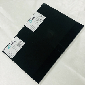 5mm 6mm Black Coated Reflective Glass