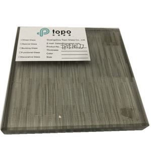 Guangzhou Laminated Glass with Metal Wire