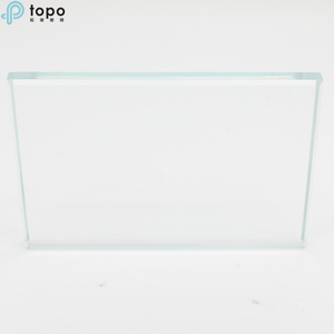 18m Ultra-Clear Low Iron Float Flat Glass for Bridge