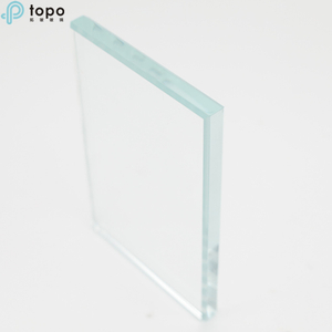 22mm 25mm Ultra Clear Low Iron Float Glass Sheet