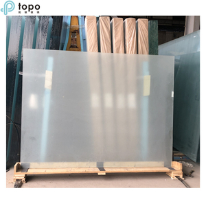 Acid Etching Frosted Glass for Doors & Windows